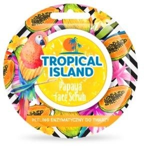 Marion Tropical Island Papaya Peeling enzymatyczny do twarzy 8G