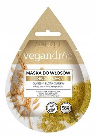 Marion Vegandrop Maska do Włosów Odbudowująca 20 ml