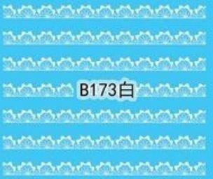 Naklejki wodne B173