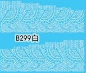 Naklejki wodne B299