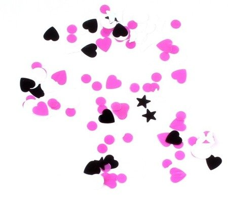 Ozdoby do paznokci serce motyl mix