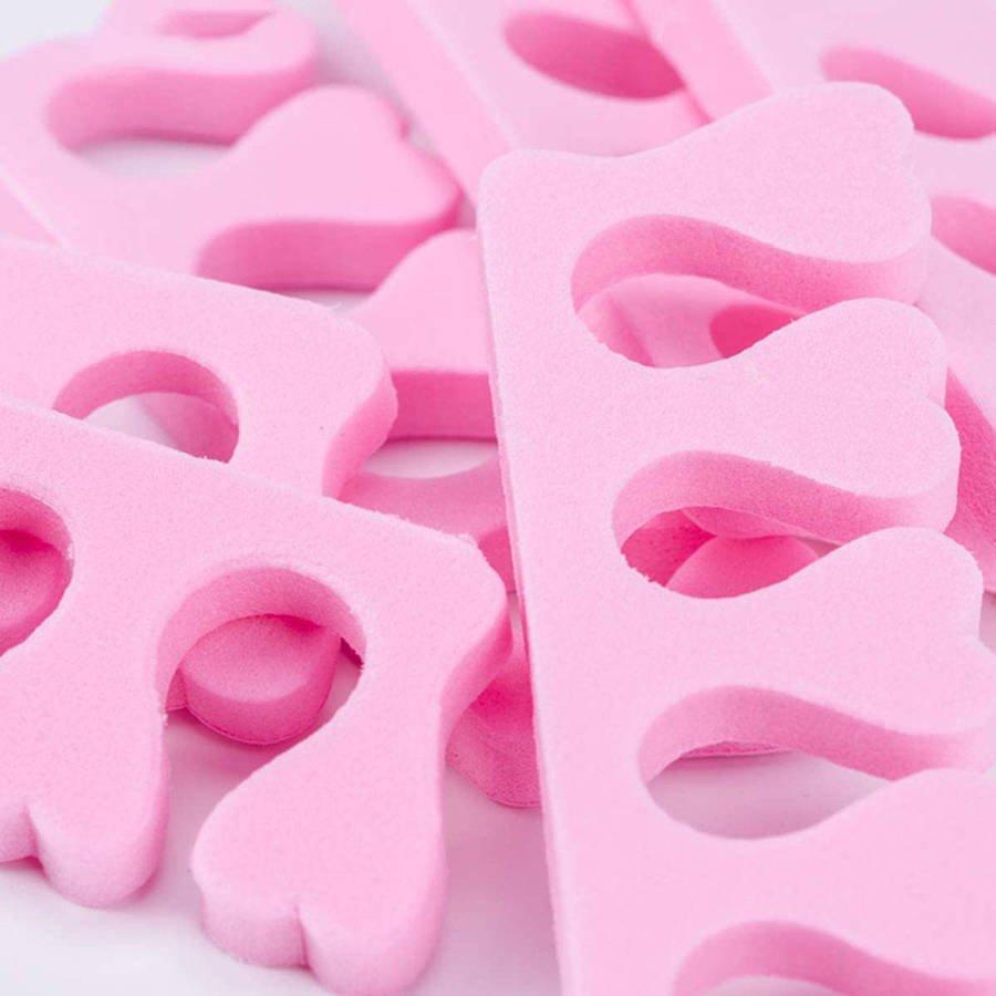 Separatory do pedicure różowe 2 szt.